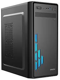 Компьютерный <b>корпус Ginzzu</b> E200 <b>Black</b> — купить по выгодной ...