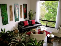 ravishing indoor plants health archives home design with black leather sofa and red cushion also glass black leather sofa office