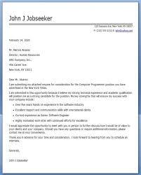 Cover Letter Format for a Programmer