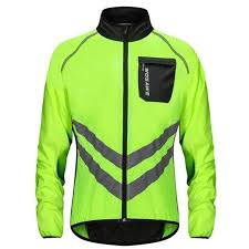 <b>Thin Reflective</b> Windproof Cycling Jackets Men Women Riding ...