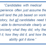 Resume Tips from a Medical Sales Recruiter