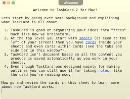 taskcard take notes create outlines and manage projects see a full screen shot of taskcard