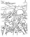 Раскраски для детей про войну