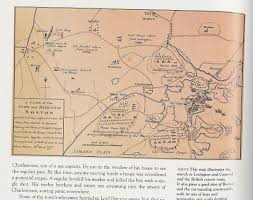 untitled document the battles of lexington and concord detailed map 1775