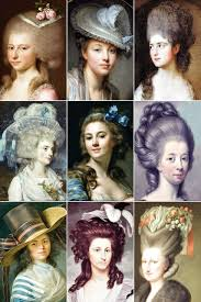 18th century hairstyles hair 18th century w s hairstyles a collection of the vine thimble
