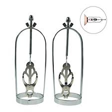 Stainless Steel <b>Nipple</b> Clamps,Clover Bra Cage <b>Torture</b> Clips