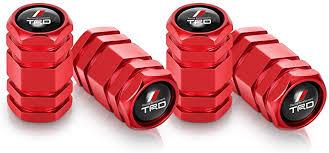 Tundra N/A <b>4Pcs</b> Metal <b>Car Wheel Tire</b> Valve Stem Caps for Toyota ...