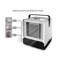 <b>Mini</b> Fan Personal Air Cooler Humidifier, Noiseless <b>Portable USB</b> Air ...