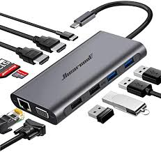 Hiearcool USB C Hub,USB-C Laptop Docking Station ... - Amazon.com