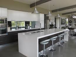 love the island and the lights above attractive kitchen bench lighting