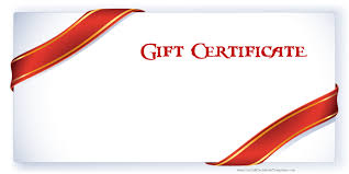 gift certificate template example shopgrat sample gift certificate template