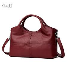 Chu JJ <b>High Quality Women's Genuine</b> Leather Handbags ...