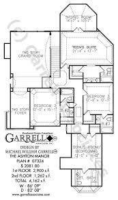 Ashton Manor House Plan   House Plans by Garrell Associates  Inc     ashton manor house plan   nd floor plan