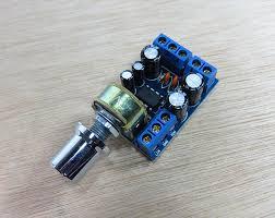 <b>TDA2822M</b> Mini 2.0 <b>Channel 1Wx2</b> Stereo Audio Power Amplifier ...