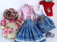 одежда для кукол: лучшие изображения (73) | Fabric dolls, Fabrics ...