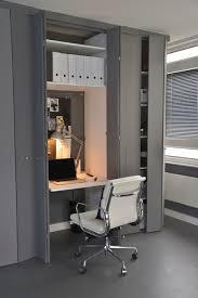 bi fold closet doors home office contemporary with bifold closet doors closet desk closet office counter desk bi fold doors home office