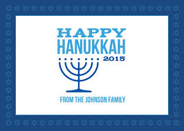 holiday templates examples lucidpress modern happy hanukkah card 7x5