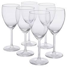 СВАЛЬК <b>Бокал для белого вина</b>, прозрачное стекло купить ...