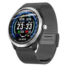 <b>N58 Smart Watch ECG</b>+PPG HRV Report Bluetooth Pedometer ...