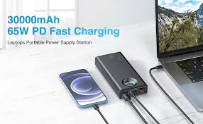 USB C Power Bank 30000mah, Baseus 65W Laptop ... - Amazon.com