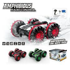 <b>1:18 Remote Control</b> Car 2.4G <b>RC Four</b>-<b>Wheel</b> Drive Amphibious ...