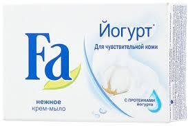Крем-<b>мыло</b> кусковое <b>Fa</b> Йогурт для <b>чувствительной</b> кожи ...