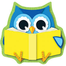 Image result for owl with books clipart
