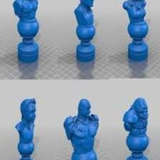 STL files for 3D printer <b>Chess</b> ・ Cults