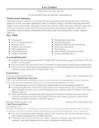professional conversion optimization specialist templates to resume templates conversion optimization specialist