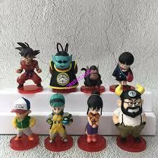 <b>13PCS</b> /<b>Set DragonBall</b> Z WCF Son Goku Chichi Bulma Mini Figure ...
