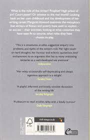 on writers and writing amazon co uk margaret atwood on writers and writing amazon co uk margaret atwood 9780349006239 books