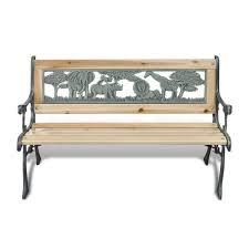 vidaXL <b>Children Garden Bench 84cm</b> Wood O- Buy Online in ...