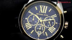 Обзор кварцевого хронографа <b>Michael Kors MK5976</b> - YouTube