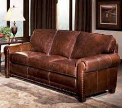 style 393 in a thick crackled traditional leather best leather furniture manufacturers