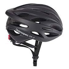 Retrospec CM-3 Bike Helmet with LED Safety Light ... - Amazon.com