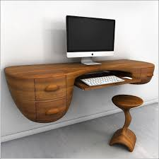 cool home office ideas wooden unique computer desk design idea unique home office design idea with amazing impressive custom deluxe office furniture