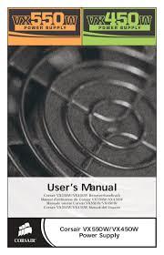 User's Manual - Corsair