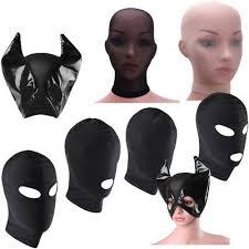 Unisex Hombres <b>Mujeres</b> la cabeza Máscara <b>Hood</b> cara cubierta de ...