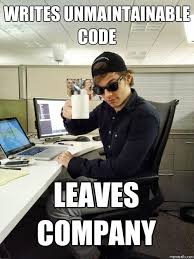 Don't be this guy. Clean code is well documented. | Jokes for ... via Relatably.com