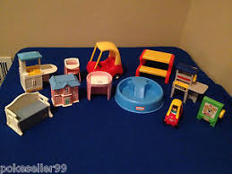 little tikes my size barbie doll house furniture lot pool picnic table kitche barbie dollhouse furniture cheap