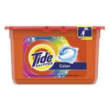 <b>Гель</b> для <b>стирки TIDE</b> в растворимых капсулах Color 12Х24,8г ...