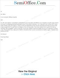hospital letter informatin for letter letter to request for in hospital bill semioffice com nursing istant cover
