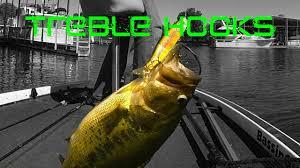 Bass <b>Fishing</b>: <b>Treble Hooks</b> and <b>Lure</b> Modifications - YouTube