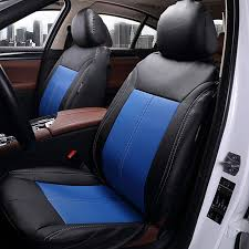 Luxury <b>PU Leather Universal Car</b> Seat Covers Set Automotive Car ...