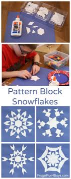 best ideas about math helper the heroes math art make pattern block snowflakes