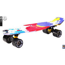 <b>Скейтборд RT 401G</b>-Sp Fishskateboard Print 22'' винил 56,6х15 с ...