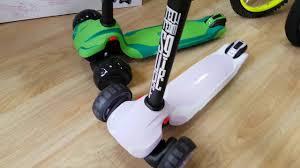 Самокаты <b>Tech Team Surf</b> Girl и <b>Surf</b> Boy 2020 года Видеообзор ...