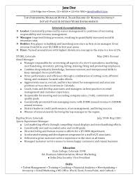 clothing retail store manager resume sampleart4search com art4search example resume for retail