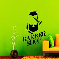 Wall Decals Barber Shop <b>Hipster</b> Decal Vinyl Sticker Home Beauty ...