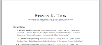 now on github  resume template in latex   steve tjoa